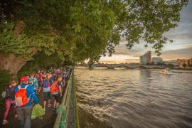 Thames path challenge photo