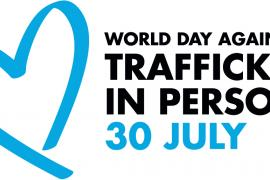 World Day Against Trafficking in Persons logo