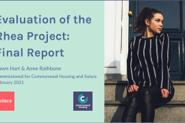 Evaluation of the Rhea project: final report